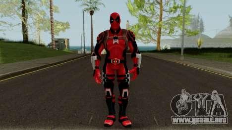 Deadpool Strike Force para GTA San Andreas segunda pantalla