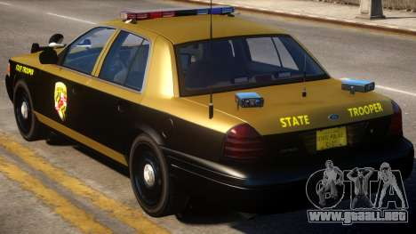 Maryland Crown Victoria para GTA 4