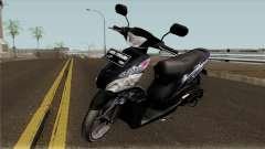 Yamaha Mio J STD para GTA San Andreas