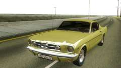 Ford Mustang 1966 Stock para GTA San Andreas