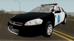 Chevrolet Impala 2007 SFPD para GTA San Andreas