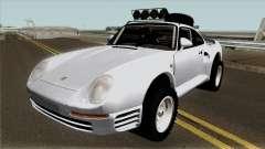 Porsche 959 Rusty Rebel 1987 para GTA San Andreas