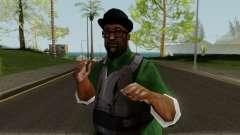 Big Smoke with Gunshots para GTA San Andreas