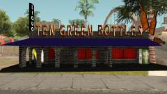 New Ten Green Bottles and Bar Interior para GTA San Andreas