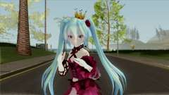 Vintage Dress (Miku) para GTA San Andreas