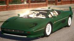 Jaguar XJ220 Sport Version para GTA 4