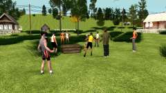 Fiesta en el pueblo (GTA Penal de Rusia) para GTA San Andreas