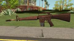 M16 Skullpiercer from Call Of Duty Z para GTA San Andreas