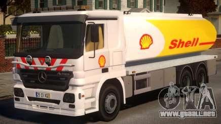 Shell Mercedes-Benz para GTA 4