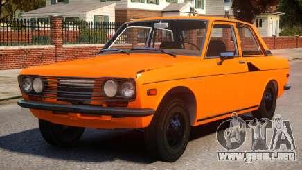 1970 Datsun Bluebird 510 [EPM] para GTA 4