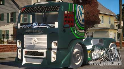VW Constellation Formula Truck para GTA 4