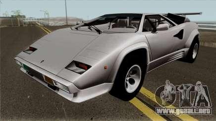 Lamborghini Countach LP5000QV para GTA San Andreas