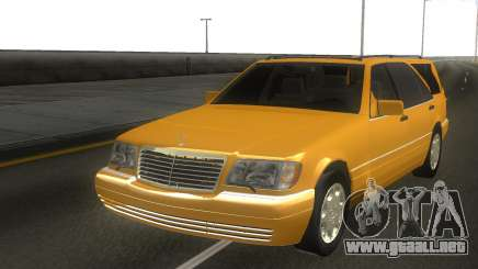 Mercedes-Benz S600 Estate stock para GTA San Andreas