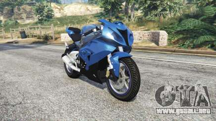 BMW S1000 RR [replace] para GTA 5