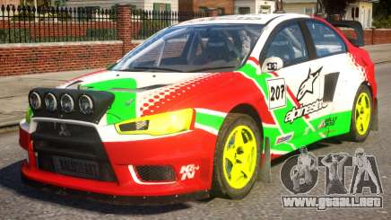 Mitsubishi Lancer EVOX PJ1 para GTA 4