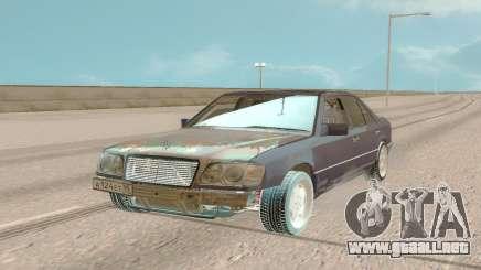 Mercedes-Benz E500 W124 1994 Damaged para GTA San Andreas