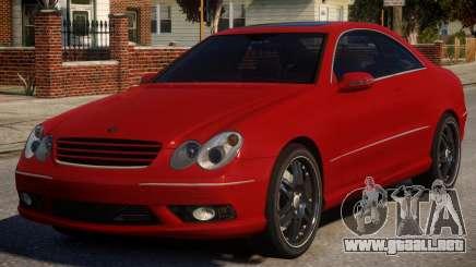 Mercedes-Benz CLK V1 para GTA 4