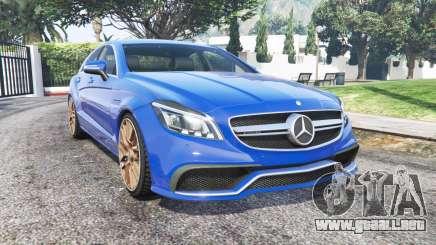 Mercedes-Benz CLS 63 AMG (С218) 2014 [reemplazar] para GTA 5
