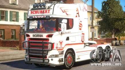 Scania R580 Longline Custom PJ16 para GTA 4