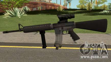 M16A4 - USMC Standard Version para GTA San Andreas