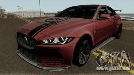 Jaguar XE SV Project 8 2017 para GTA San Andreas