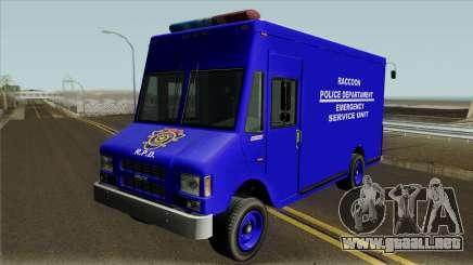 RPD Van Swat RE3 para GTA San Andreas