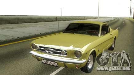 Ford Mustang 1966 Stock para GTA San Andreas