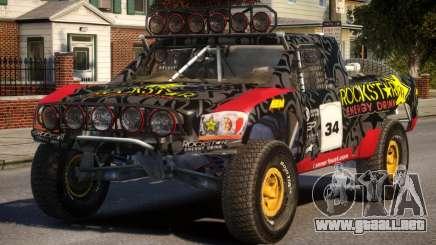Dodge Ram Trophy Truck PJ1 para GTA 4