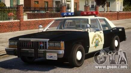 1987 Ford LTD Crown Victoria ELS para GTA 4