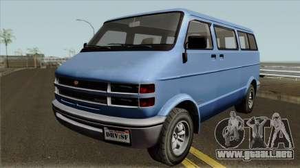 Bravado Youga GTA V para GTA San Andreas