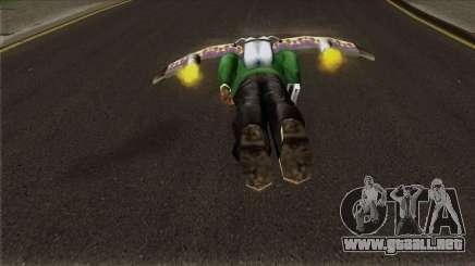 Rocket Wings para GTA San Andreas