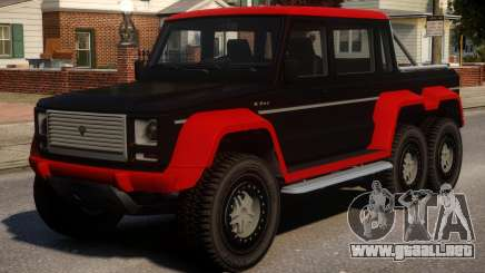 Benefactor Dubsta 6x6 Alternate para GTA 4