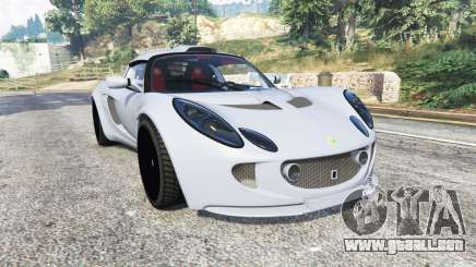 Lotus Sport Exige 240 2008 v1.1 [replace] para GTA 5