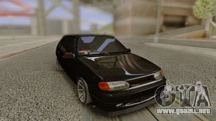 VAZ 2114 sin parachoques trasero para GTA San Andreas