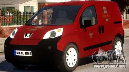 Peugeot Bipper Royal Mail para GTA 4