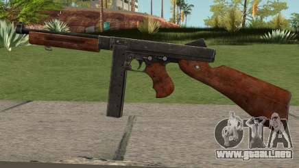 Thompson M1A1 SMG V2 para GTA San Andreas