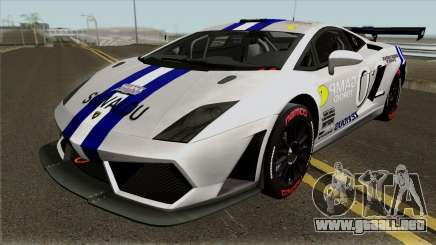 Lamborghini Gallardo Racing Team Solvalou RR-TYP para GTA San Andreas