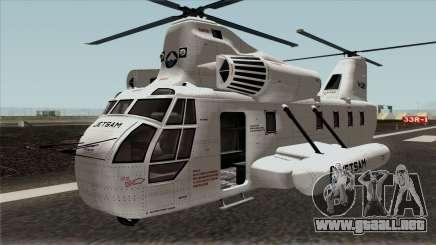 Cargobob Jetsam GTA V para GTA San Andreas