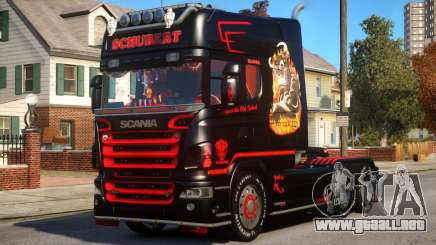 Scania R580 Longline Custom PJ13 para GTA 4