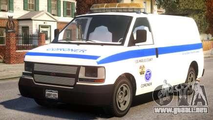 Los Angeles Coroner Van para GTA 4