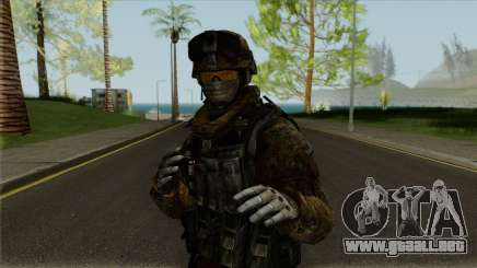 Multicam Ranger from Call of Duty: MW2 para GTA San Andreas