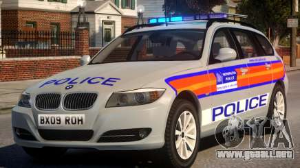 Metropolitan BMW 3 Series ANPR Version para GTA 4