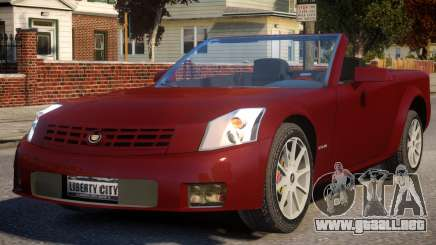 2004 Cadillac XLR para GTA 4