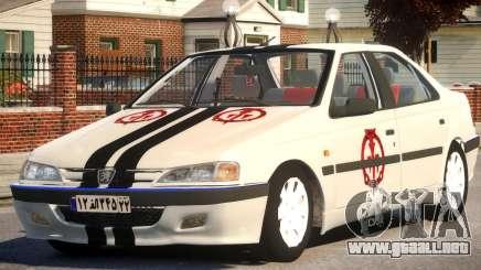 Peugeot Persia para GTA 4
