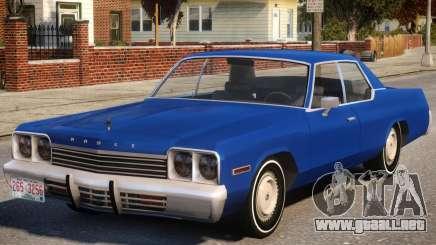 1974 Dodge Monaco V1.2 para GTA 4