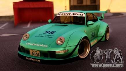 Porsche 993 GT2 RWB LOMIANKI para GTA San Andreas