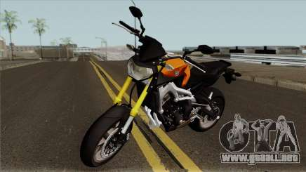 Yamaha MT 09 para GTA San Andreas