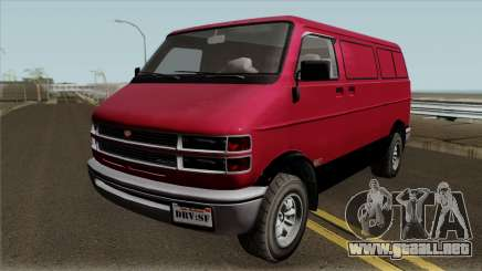 Bravado Youga GTA V IVF para GTA San Andreas