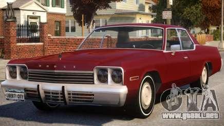 1974 Dodge Monaco V1 para GTA 4
