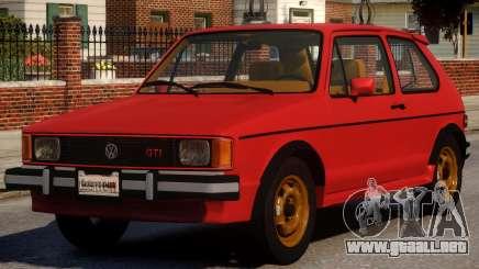 1984 Volkswagen GTI-Rabbit para GTA 4
